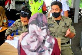 "Tim Operasi ""Masker"" Kota Jambi efektif berlakukan sanksi denda"