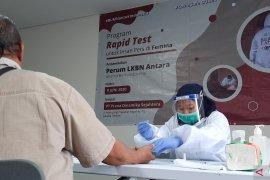 """LKBN ANTARA gelar """"rapid test"""" COVID-19 di Majalah Femina"""