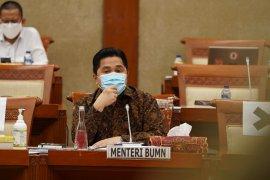 Menteri Erick Thohir memangkas jumlah BUMN dari 142 menjadi 107 perusahaan