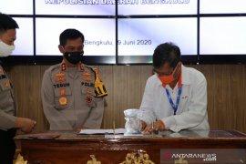"Polda Bengkulu dan Pelindo teken ""MoU"" pengamanan pelabuhan"