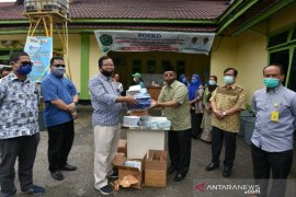 Bank Sumut serahkan bantuan APD kepada Pemkot Padangsidimpuan