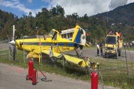 Pesawat Pelita Air tergelincir di Karubaga-Papua