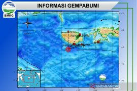 Guncangan gempa 6,0 di Pulau Buru dirasakan hingga ke Ambon