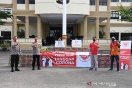 Polda Jambi -Wing Peduli salurkan bantuan bagi warga terdampak COVID-19