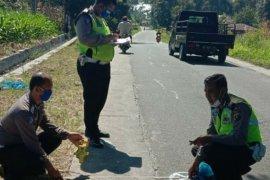Tiga motor tabrakan di Sidamanik, satu tewas