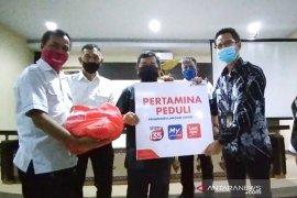 500 paket pangan dari Pertamina siap dibagikan di selatan Garut