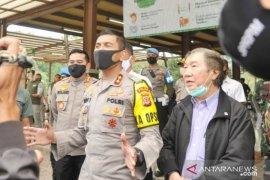 Kapolda Jabar kawal tes cepat COVID-19 di TSI Cisarua Bogor