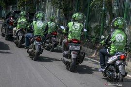 Ojek online di Kabupaten Bekasi masih dilarang bawa penumpang