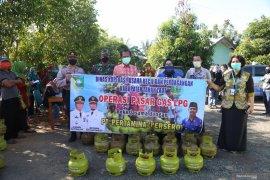 Pemkab gelar operasi pasar gas LPG tiga kilogram di Kecamatan Batu Ampar