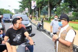 Pemkot Binjai sosialisasikan pakai masker ditempat umum
