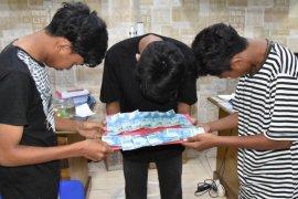 Edarkan uang palsu di Aceh Timur, enam pria asal Aceh Utara di ringkus polisi