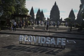 Simulasi pembukaan wisata Prambanan