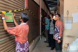 Selisih jumlah pedagang, 47 Kios di Pasar Gedang disegel