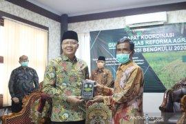 Gubernur : Redistribusi agraria dorong kemajuan Bengkulu