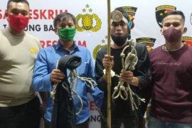Polres Tanjung Balai tangkap pencuri sarang burung walet