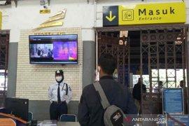 KA Ranggajati angkut 16 penumpang penuhi syarat protokol kesehatan