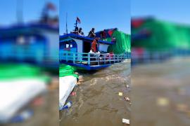 KM Mekar Jaya karam di perairan Sukadana, 5 orang dievakuasi