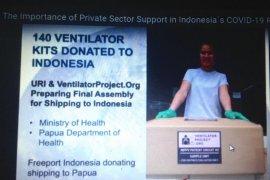 Universitas di AS akan kirim 140 ventilator ke Indonesia