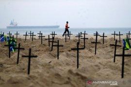 Brazil jadi negara tertinggi kedua jumlah kematian akibat COVID-19