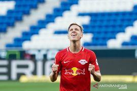 Liga Jerman: Bekuk Hoffenheim 2-0, Leipzig kokoh di empat besar
