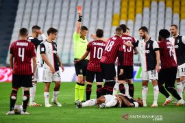 8,3 juta orang tonton Juve lawan Milan di layar kaca