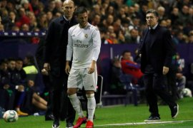 Liga Spanyol: Zidane suntik semangat Hazard yang kembali dirundung cedera