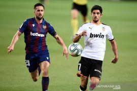 Valencia, Levante berbagi poin usai imbang 1-1 dalam Derbi del Turia