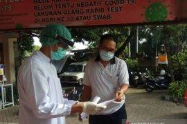 GTPP Denpasar lakukan tes cepat kepada puluhan wartawan