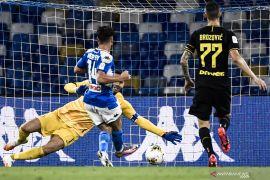Gol Mertens antarkan Napoli ke final Coppa Italia