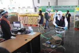 Warga Bangkalan, Pasuruan dan Mojokerto dapat nikmati layanan daring Lumbung Pangan Jatim