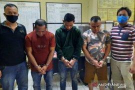 Polres Tanjungbalai tangkap tiga serangkai pengedar ekstasi