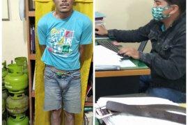 Anggota kawanan pencuri 21 tabung gas diringkus Polsek Binjai