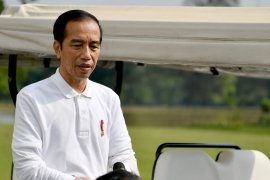 Presiden Joko Widodo sampaikan dukacita wafatnya Pramono Edhie Wibowo