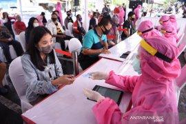 """BIN lakukan """"swab"""" ulang  105 pasien positif COVID-19 di Surabaya"""