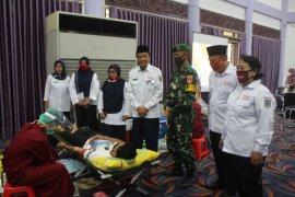 PMI Paser Kumpulkan 64 Kantong Darah