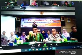Cegah COVID-19, SD Muhammadiyah 2 Pontianak perpisahan secara virtual