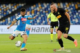 Napoli melawat ke Barcelona kemungkinan tanpa Lorenzo Insigne