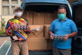 KPPBC Kudus kembali ungkap rokok ilegal di tengah pandemi COVID-19