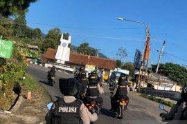Antisipasi balap liar di jalur selatan, Polres Subang gelar patroli jalan raya