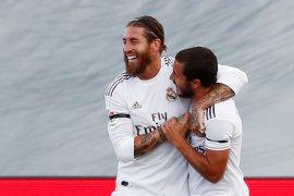 Sergio Ramos ajak rekan-rekannya menangi semua laga tersisa