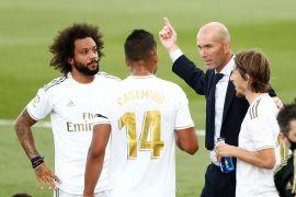 Zidane tegaskan tak mau Madrid keluhkan jadwal yang padat