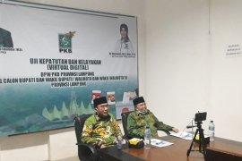 Cabup-Cawabup Waykanan melakukan Fit and Proper Test di DPW PKB Lampung Page 1 Small