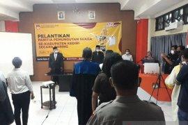 KPU Kabupaten Kediri lantik PPS secara daring