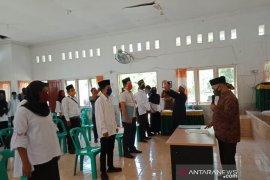KPU Tapsel lantik PPS mengikuti protokol kesehatan
