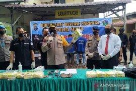 Polisi tembak mati bandar narkoba di Sumut