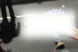 Terlindas truk kontainer, Suyanto tewas di tempat