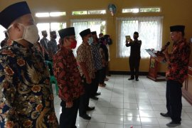 KPU Kabupaten Sukabumi melantik ribuan PPS