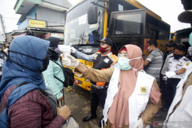 Kemhub tindak operator moda transportasi lampaui kapasitas penumpang saat pandemi