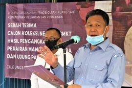 KKP serahkan barang muatan kapal tenggelam sebagai koleksi negara