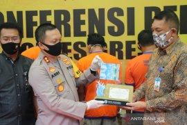 Polisi Gresik bongkar sindikat pengedar uang palsu antarprovinsi, empat pelaku diringkus